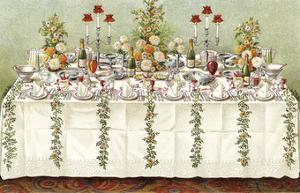 Table Settings - Buffet by The Vintage Collection
