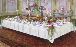 Table Settings - Dinner by The Vintage Collection
