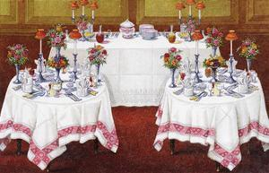Table Settings - Supper by The Vintage Collection