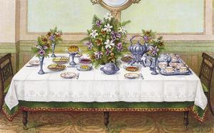 Table Settings - Tea by The Vintage Collection