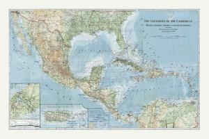 The Countries of the Carribean by The Vintage Collection