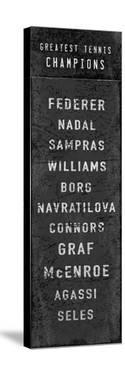 The Greatest Tennis Champions by The Vintage Collection