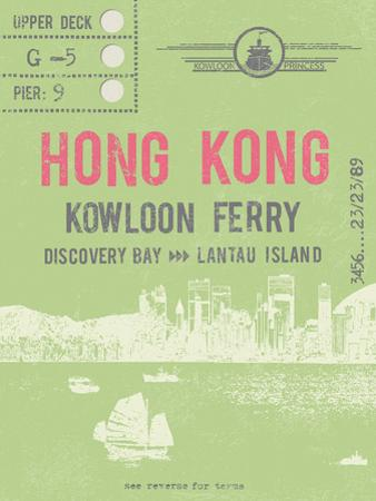 Ticket to Hong Kong by The Vintage Collection