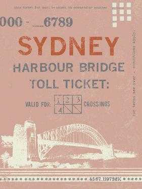 Ticket to Sydney by The Vintage Collection