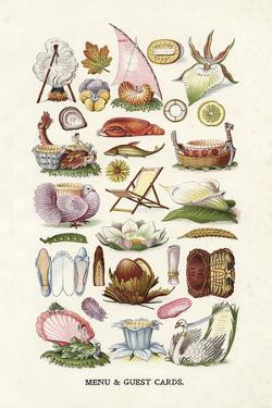 Vintage Menu Cards by The Vintage Collection