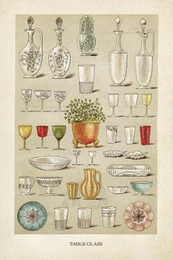 Vintage Tableglass by The Vintage Collection