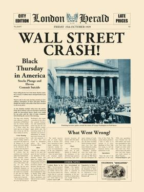 Wall Street Crash! by The Vintage Collection