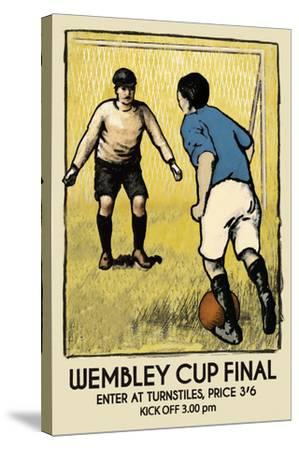Wembley Cup Final by The Vintage Collection