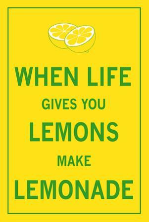 When Life Gives You Lemons by The Vintage Collection