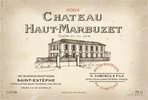 Wine Label I by The Vintage Collection