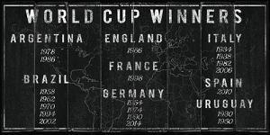 World Cup Winners by The Vintage Collection