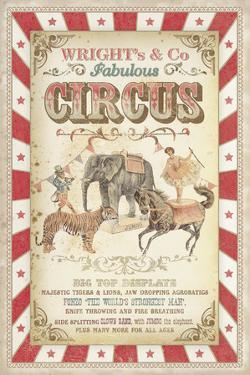 Wright's Fabulous Circus by The Vintage Collection