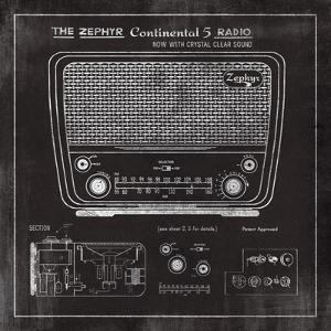 Zephyr Radio by The Vintage Collection