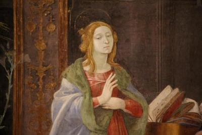The Virgin Mary at the Annunciation