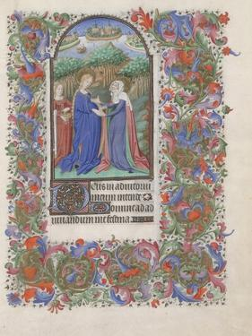 The Visitation (Book of Hour), 1440-1460
