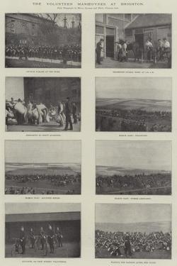 The Volunteer Manoeuvres at Brighton