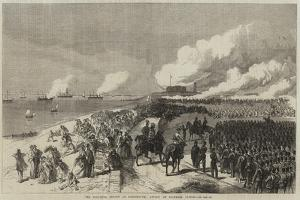 The Volunteer Review at Portsmouth, Attack on Southsea Castle