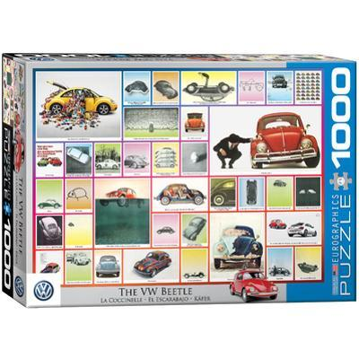 The VW Beetle 1000 Piece Puzzle