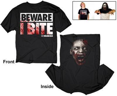 The Walking Dead- Beware I Bite (Reversible)
