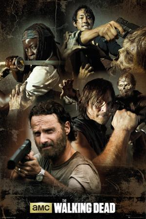 The Walking Dead Collage