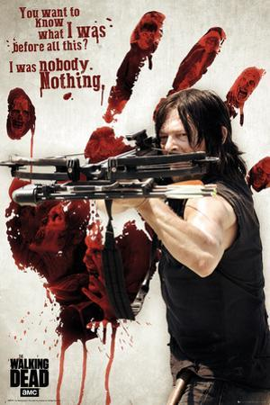 The Walking Dead- Daryl Before The Blood