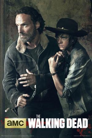 The Walking Dead - Season 5 Rick And Carl