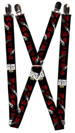 The Walking Dead - Survivor Blood Splatter Suspenders