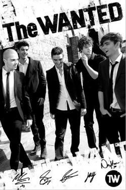 The Wanted- B&W