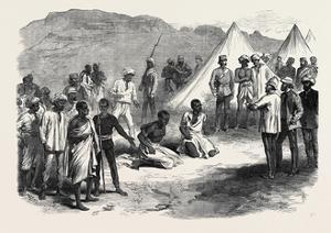 The War in Abyssinia: Trial of Two Natives for Stealing Commissariat Stores 1868