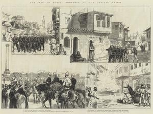 The War in Egypt