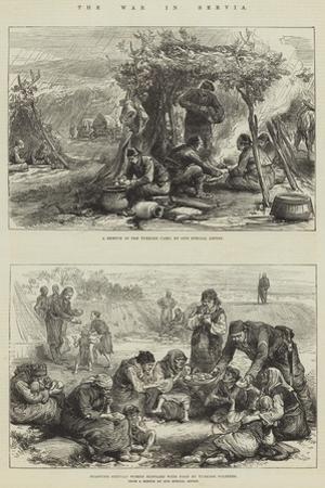 The War in Servia