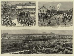 The War in South America, Lima, Capital of Peru, Captured by the Chilians, 17 January 1881