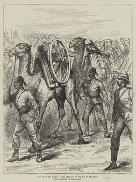 The War in the Soudan, Camel Artillery on the Way to the Front