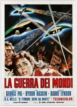 The War of the Worlds (AKA La Guerra Dei Mondi), 1953