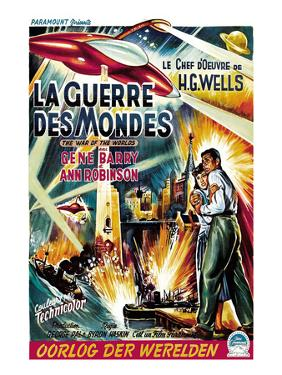 The War of the Worlds (AKA La Guerre Des Mondes), From Left, Ann Robinson, Gene Barry, 1953