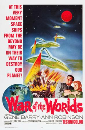 The War of the Worlds, Bottom From Left: Gene Barry, Ann Robinson, 1953