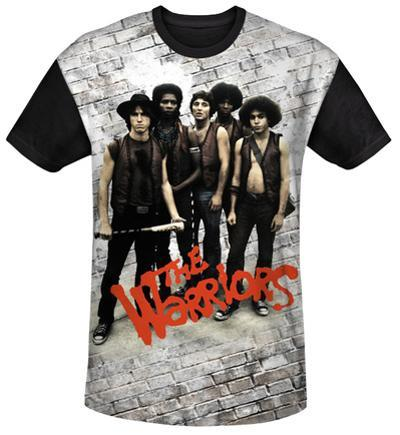 The Warriors - Pose Black Back