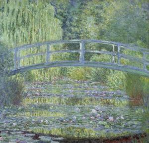 The Waterlily Pond: Green Harmony by Claude Monet