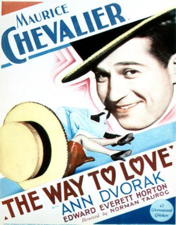 The Way to Love - Movie Poster Reproduction