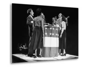 """The Weavers"" Singing at Vito Marcantonio's Rally"