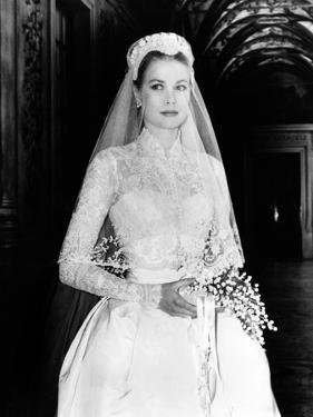 The Wedding in Monaco, Grace Kelly, 1956