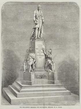 The Wellington Memorial for Manchester, Designed by M Noble