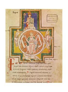 The Wheel of Fortune (Rota Fortuna) from Carmina Burana, Ca 1230