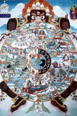 The Wheel of Life, Tibet, 19th-20th Century