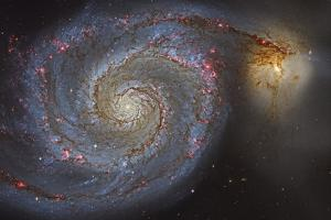 The Whirlpool Galaxy and its Companion Galaxy