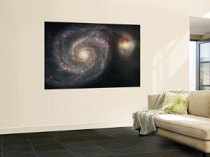 The Whirlpool Galaxy (M51) and Companion Galaxy