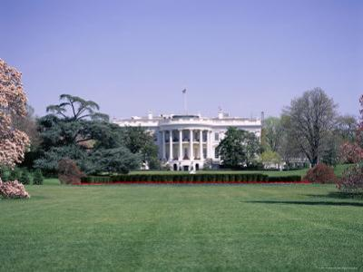 The White House, Washington D.C., United States of America (Usa), North America by I Vanderharst