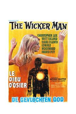 The Wicker Man, (aka Le Dieu D'osier), Belgian poster, 1973