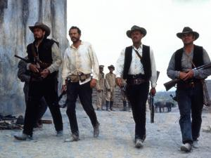 The Wild Bunch, Ben Johnson, Warren Oates, William Holden, Ernest Borgnine, 1969