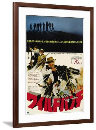 The Wild Bunch - Japanese Style--Framed Poster